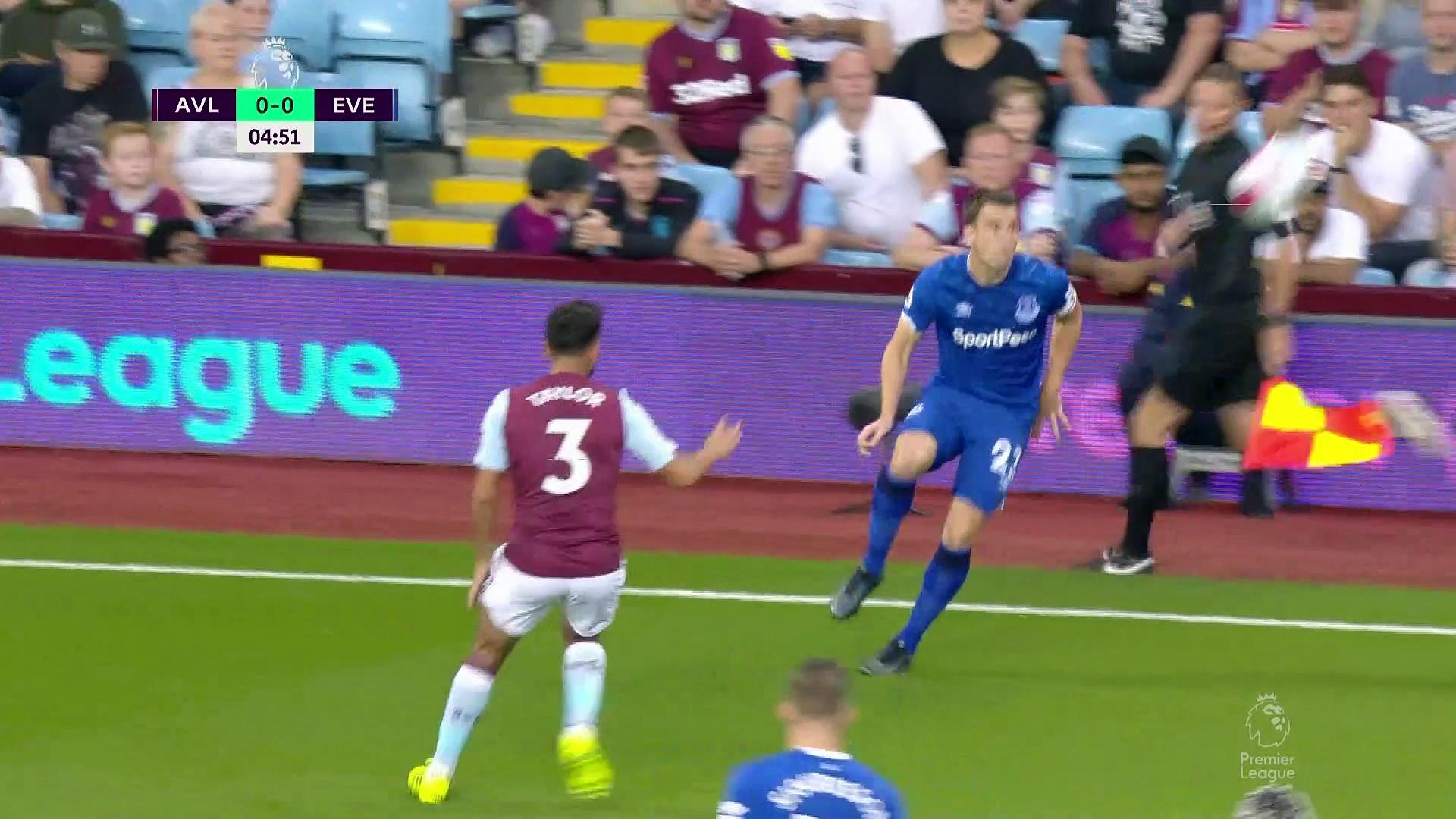 3. Hafta / Aston Villa - Everton: 2-0 (Özet)