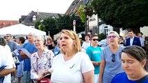 Flash song pour le lancement du 18e festival du sucre à Erstein