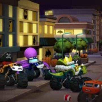 Blaze and the Monster Machines S02E03 Truck or Treat