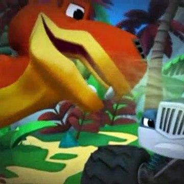Blaze and the Monster Machines S02E02 Dino Dash