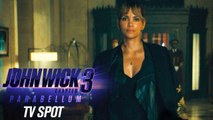 """John Wick: Chapter 3 - Parabellum (2019 Movie) Official TV Spot """"Action""""– Keanu Reeves, Halle Berry"""