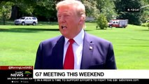 Trump heads to G7 Summit in France