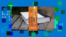 [Doc] Get It Done: From Procrastination to Creative Genius in 15 Minutes a Day