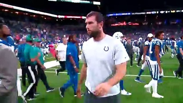 Andrew Luck GETS EMOTIONAL Announcing His Retirement From NFL!