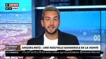Homophobie dans les stades: une banderole déployée lors de Angers-Metz provoque la colère