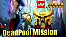 Bro-tunheim DeadPool Mission — LEGO Marvel Super Heroes 1 {PS4}