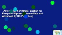 Any Format For Kindle  English for Everyone Slipcase: Intermediate and Advanced by DK Publishing