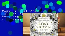Popular Lost Ocean: An Inky Adventure and Coloring Book for Adults - Johanna Basford
