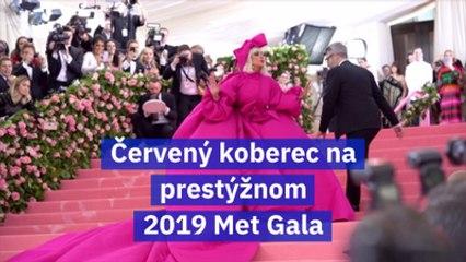 Červený koberec na prestýžnom 2019 Met Gala