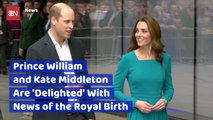 Prince William And Kate Middleton Respond To Meghan Markle's Birth