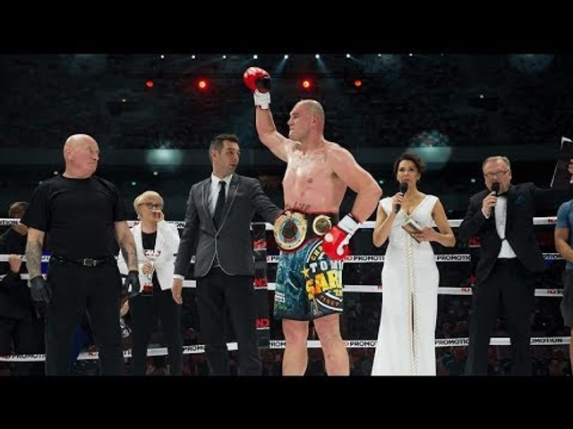 Tomasz Sarara wins WKN Super Heavyweight title