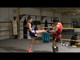 Muay Thai teep push kick technique (Round 2 Ep. 4)