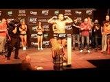 UFC 234 Weigh-in Highlight