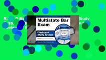 R.E.A.D Multistate Bar Exam Flashcard Study System: MBE Test Practice Questions and Review for the