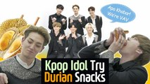 Korean Idol tried Malaysia Snacks for the first time l VAV X Blimey