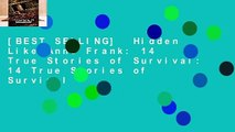 [BEST SELLING]  Hidden Like Anne Frank: 14 True Stories of Survival: 14 True Stories of Survival