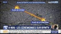 Commémorations du 8-mai: un dispositif de sécurité renforcé et une large zone interdite aux manifestations