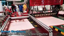 CIS-800 AUTOMATI PP WOVEN BAG CUTTING SEWING _ INNER BAG INSERTING MACHINE