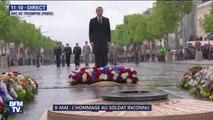 Commémorations du 8-mai: la Marseillaise retentit place de l'Étoile
