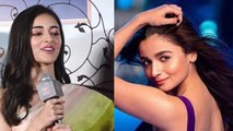 Ananya Pandey praises Alia Bhatt during promotion on Student Of The Year 2 | FilmiBeat