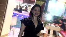 South Indian Actresses Tamannaah and Kajal Agarwal Spotted at Funqin, Juhu