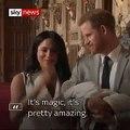 Royal Baby: Découvrez les premières images de l'enfant du prince Harry et de Meghan Markle - VIDEO