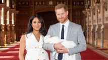 Prince Harry & Meghan Markle Introduce Their Baby to the World
