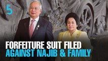 EVENING 5: Govt files forfeiture suit against Najib