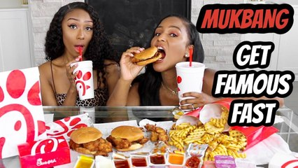 Chick-Fil- A MUKBANG_ HOW TO GET FAMOUS ON YOUTUBE FAST!!! (all the tea)