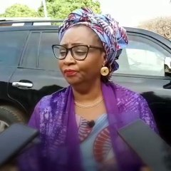 Hadiza El-Rufai (First Lady, Kaduna State) speaks on her husband winning a se...