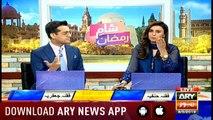Sham-e-Ramzan with Shafaat Ali and Madiha Naqvi - 8th May 2019