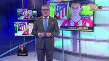 Diego Godín se despide del Atlético Madrid