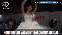 Kontogruni Valmont Barcelona Bridal Week 2019 | FashionTV | FTV