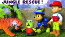 Paw Patrol Jungle Rescue with the Funny Funlings as they try to find a Tiger with Tracker in this Family Friendly Full Episode English Story for Kids