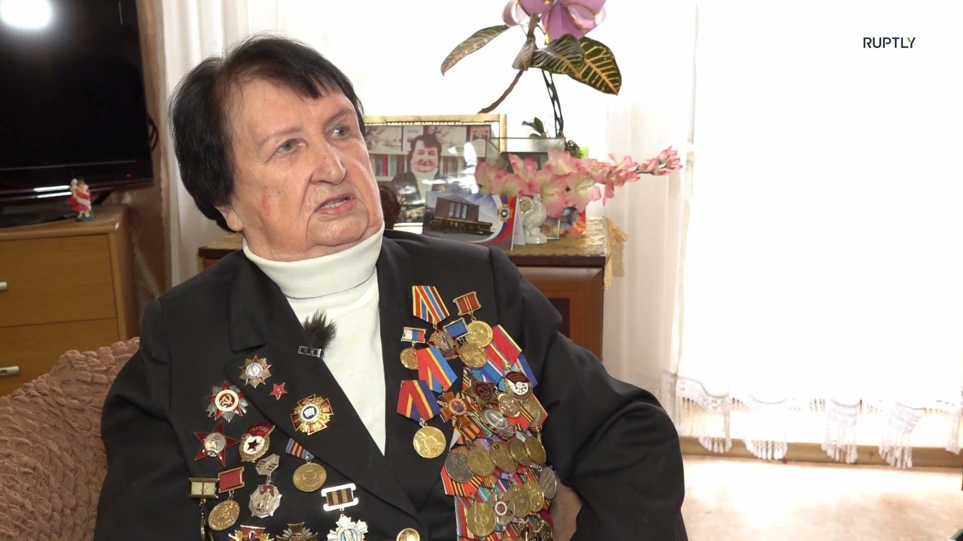 Кавалер ордена Красной Звезды, вспоминает о последних днях войны