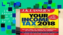 [GIFT IDEAS] J.K. Lasser s Your Income Tax 2018: For Preparing Your 2017 Tax Return by J.K.