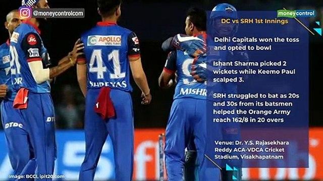 IPL 2019 DC vs SRH Eliminator Highlights: Delhi beat Hyderabad by 2 wickets in the Eliminator of IPL 2019 playoffs