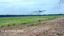 U.S. B-52s Take off for Bomber Task Force deployment from Barksdale Air Force Base