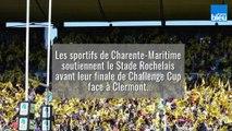 Les sportifs de Charente-Maritime soutiennent le Stade Rochelais