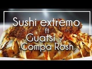SUSHI con Tocino, Res, pollo y camarón en Culiacán.