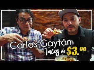 Lleve a Chef reconocido a comer TACOS DE 3 PESOS!