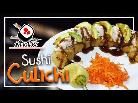 Sushi Culichi con QUESO GRATINADO y TOCINO