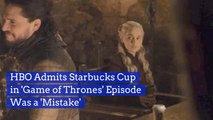 HBO Didn't Put A Starbucks Cup In 'Game Of Thrones' On Purpose