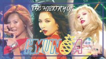 HyunA Special ★ Since 'CHANGE' to 'RETRO FUTURE'★ (1h stage compilation)