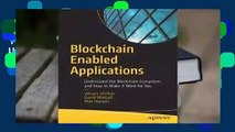 Full version  Blockchain Enabled Applications: Understand the Blockchain Ecosystem and How to