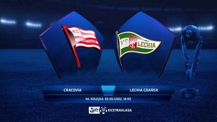 Cracovia 2:0 Lechia Gdańsk - Matchweek 34: HIGHLIGHTS