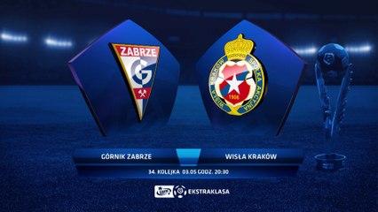 Górnik Zabrze 1:2 Wisła Kraków - Matchweek 34: HIGHLIGHTS
