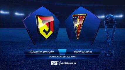 Jagiellonia Białystok 4:2 Pogoń Szczecin - Matchweek 34: HIGHLIGHTS