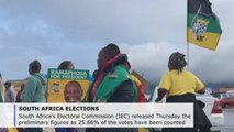 Preliminary results indicate tight majority for ANC in South Africa election