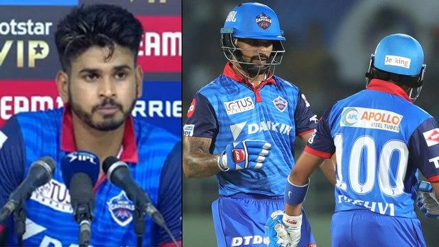 IPL 2019 : Shreyas Iyer Praises Rishabh Pant And Prithvi Shaw For Guiding Delhi Capitals || Oneindia